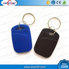 Customized Printed 13.56mhz MF s50 ABS rfid keyfob
