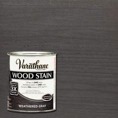 Varathane 1 qt. 3X Weathered Gray Premium Wood Stain (Case of 2)