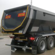 Half Pipe Tipper Trailer Take The First Step, Marketing, Autos