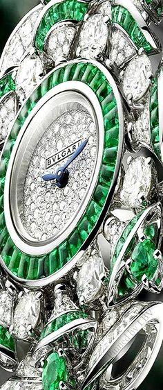 Bvlgari ♥✤DIVA High Jewellery Emeralds Details