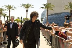 Howard Stern at the Tampa auditions #AGT/ America's Got Talent