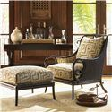 Royal Kahala Sumatra Exposed Wood Chair with Decorative Back Cutout by Tommy Bahama Home - Baer's Furniture - Exposed Wood Chair Miami, Ft. Lauderdale, Orlando, Sarasota, Naples, Ft. Myers, Florida