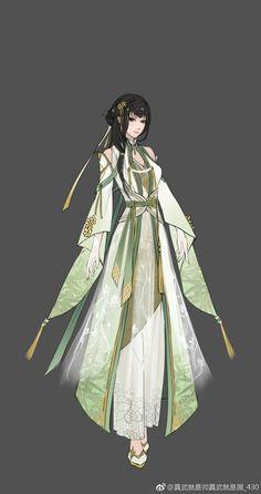 動漫神明服裝 紫冰姬的服裝 Fantasy Dress, Fantasy Girl, Character Outfits, Character Art, Female Cartoon Characters, Fashion Drawing Dresses, Anime Dress, Chinese Clothing, Traditional Fashion