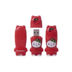 Hello Kitty Mimobot USB Flash Drive ($35) ❤ liked on Polyvore