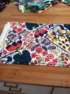 Josef Frank Ceylon fabric. Via Little Green Notebook, for Jo Goddard.