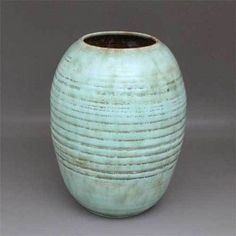 Grosse alte Vase gemarkt Sphinx