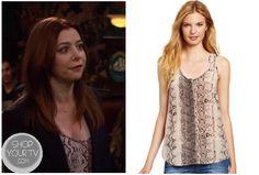 How I Met Your Mother: Season 8 Episode 9 Lily's Snake Skin Tank | ShopYourTvShopYourTv