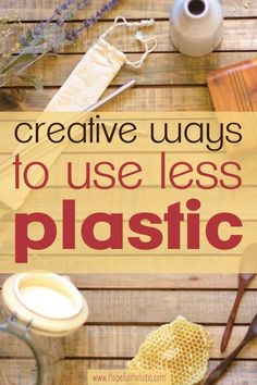 Low waste living Learn some more ways to reduce your waste and use of plastic. Pursue zero waste and sustainable living using creative methods that you might not have thought of before! Use Of Plastic, Plastic Waste, Plastic Bins, Zero Waste, Reduce Waste, Plastik Recycling, Recycling Information, Waste Reduction, Green Living Tips