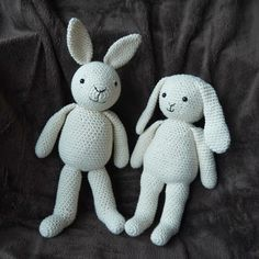 Mesmerizing Crochet an Amigurumi Rabbit Ideas. Lovely Crochet an Amigurumi Rabbit Ideas. Crochet Bunny Pattern, Crochet Rabbit, Easy Crochet Patterns, Crochet Ideas, Easy Crochet Projects, Crochet Crafts, Crochet Dolls, Crocheted Toys, Easter Crochet