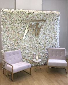 Backdrop Decorations, Backdrops, Wedding Decorations, Boutique Interior, Bridal Salon, Wedding Stage, Gold Party, Floral Wall, Event Decor