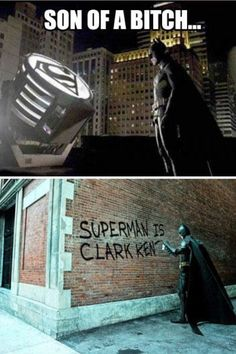 Because no one messes with batman!