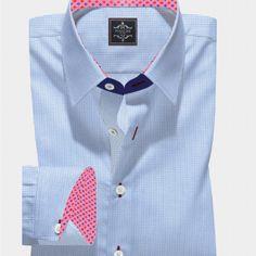 Yellow and Grey Check Twill Business Shirt – Panache Bespoke Bespoke Shirts, Custom Made Shirts, Business Shirts, Twill Shirt, Men Shirts, Formal Shirts, Ready To Wear, Men Sweater, Stripes