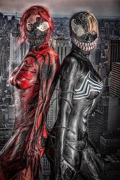 Carnage Vs Venom Cosplay Shoot
