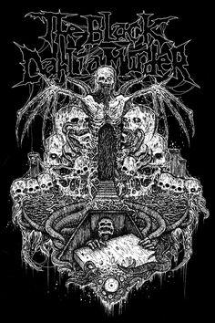 The Black Dahlia Murder by Mark Riddick