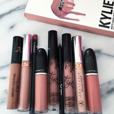 60 Trendy Ideas For Makeup Lips Kylie Jenner Beauty Products Kiss Makeup, Love Makeup, Makeup Inspo, Makeup Inspiration, Hair Makeup, Makeup Lipstick, Glam Makeup, Lipsticks, Flawless Makeup