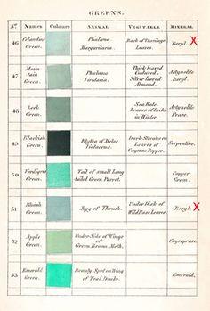 Werner's Nomenclature - Green (2)