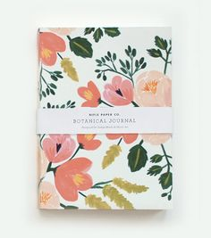 Botanical Journal - ROSEI would LOVE to doodle in this!!!