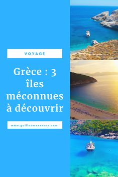 Tu recherches des paysages à couper le souffle, de sublimes plages et de la tranquillité pour tes prochaines vacances en Grèce? Découvre les îles grecques méconnues de Céphalonie, d'Ithaque et de Folégandros. #folegandros #cephalonie #kefalonia #ithaque #cyclades #grece #voyage #blogvoyage #mer #baignade #coucherdesoleil Nord Est, Voyage Europe, Souffle, Crete, Travel Advice, Portugal, Wanderlust, World, Outdoor Decor