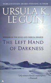 Left Hand of Darkness, Ursula K. LeGuin, science ficiton