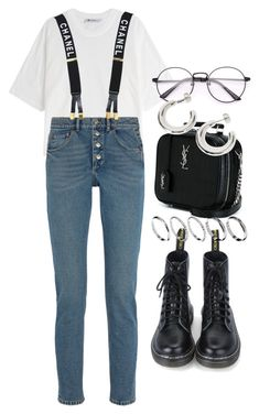 """Untitled #2629"" by mariie0h ❤ liked on Polyvore featuring T By Alexander Wang, Balenciaga, Yves Saint Laurent, Chanel and ASOS"