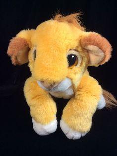 Mattel Lion King Simba Plush Soft Toy 1993 Cub Disney Stuffed #Mattel