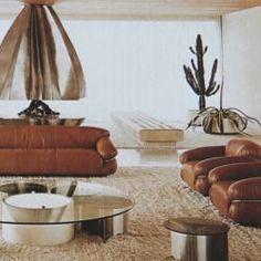 Home Interior Salas - Chic Dcor / Ottiu - Beyond Upholstery.Home Interior Salas - Chic Dcor / Ottiu - Beyond Upholstery Vintage Interior, Interior, 70s Decor, Cheap Home Decor, Modern Interior Design, Retro Interior Design, Interior Design, Modern Interior, Vintage Interiors