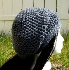 Wipe the slate clean. This medium grey slouch hat is great for any season yet light in weight Available to order @ facebook.com/hooka.yarn