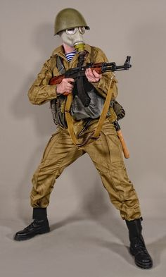 Military - uniform Soviet soldiers coldwar1 - 01 by MazUsKarL #sovietrussia #cccp #specnaz #camuflage #uniform #battledress #kalashnikov #afganka #military #history #soldier #redarmy #sovietarmy #warfare #gasmask #raspirator #warrior #fighter #infantry #airborne #paratrooper #weapon #force #heer #army #soviets #russian