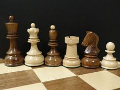 Noj Dubrovnik Chess Set in Walnut and Maple | #1885447745