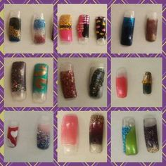 By La' James International College - Iowa City. End of rotation nail art competition at the Iowa City Campus! The Winner was Martha Waldschmidt.  @Bloom.com #Nails #NailTechnology #Cosmetology #StudentWork