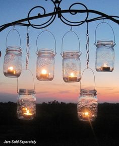 This is better than the strings of lights over the patio.