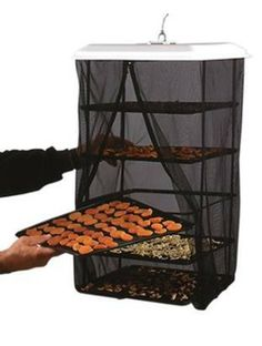 The Food Pantrie by Handy Pantry non-electric / solar food dehydrator costs a fraction of electric dryers. All natural, great addition to food storage. Comes pre-assembled and easy to use. Survival Food, Homestead Survival, Survival Prepping, Emergency Preparedness, Survival Supplies, Survival Stuff, Emergency Kits, Wilderness Survival, Best Food Dehydrator