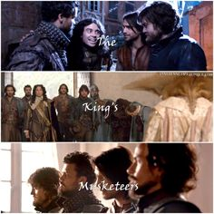 The Musketeers are men of honor.