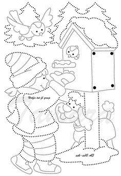 FREE Printable Winter Snowflakes Line Tracing Worksheets