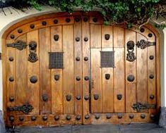 1000 images about portones on pinterest puertas iron doors and gates - Portones de madera antiguos ...
