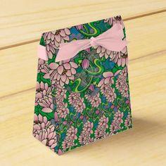 French Art Nuveau Gift Boxes - flowers floral flower design unique style