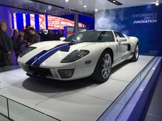 #GT #FordGT @Ford 2015 display @NAIASDetroit in #Detroit #PureMichigan #NAIAS #Cars #Auto @FordAutoShows @Ford_Sean