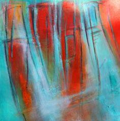 exto.nl | abstract-summer curtains van Susan van Duijkeren