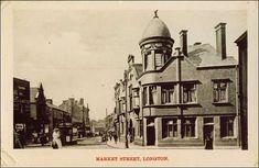 Market Street, Longton, Stoke-on-Trent Stoke On Trent, Local History, My Childhood Memories, Prefab, Newcastle, Taj Mahal, Past, Pottery, Marketing