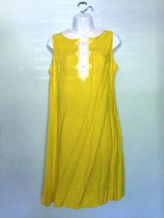 Yellow 'Rosemary's Baby' dress