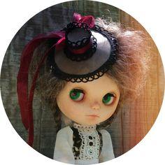 Blythe doll handmade hats DIY