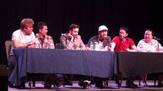 Voice Actor Roundtable at AWA - Todd Haberkorn, Chris Sabat, Vic Mignogna etc.