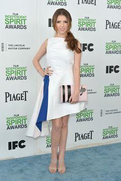 Anna Kendrick Actress Anna Kendrick attends the 2014 Film Independent Spirit Awards at Santa Monica Beach on March 1, 2014 in Santa Monica, California.