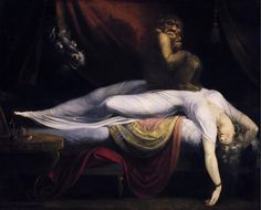 3. Johann Heinrich Fussli The Nightmare 1781 Institute of Arts Detroit #curves #story #art #arthistory #neoclassicism #romanticism