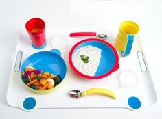 """SENSES"" CHECKLIST / ""EATWELL is an assistive tableware set for people with special needs. It's universal, user-centric design can benefit those with cognitive (such as Alzheimer's and other dementias), motor (Parkinson's disease, various scleroses), and physical (injury, infirmity) impairments."""