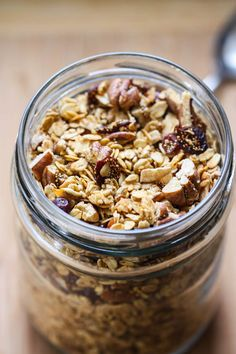 Oat and amaranth granola from Eat Live Run #amaranth