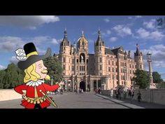 Imagefilm Schwerin - Eine Stadt zum Erleben - Schweriner Schloss, Das Pe...