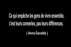 """Anna Gavalda. Histoire de torchons et de serviettes (extrait de """"Ensemble, c'est tout"""")"""