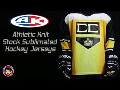 Athletic Knit Sublimated Hockey Jerseys  View draft beer, tie dye, ugly christmas sweater, Don Cherry and more styles.