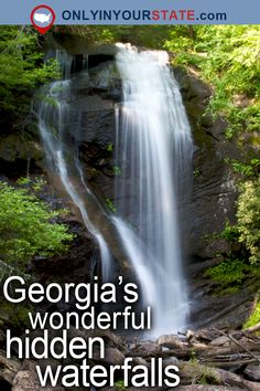 Travel | Georgia | Attractions | USA | East Coast | Hidden Gems | Natural Wonders | Places To Visit | Day Trips | Things To Do | Road Trips | Waterfalls | Outdoor | Adventure | Explore | Nature | Planet Earth | State Parks | Forest | Beautiful Places | National Forest | Canyon | Easy Hikes | Trails | Hiking | Scenic Hikes | Mountains